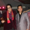 Kamal Hasan and Manoj Kumar greet each other at the 4th Jagran Film Festival