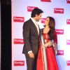 Aishwarya Rai Bachchan with Abhishek Bachchan at the event