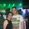 Sudhanshu Pandey was seen with his wife at the Electro Musical Night 'BollyBoom'