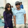 Neha Dhupia and Randeep Hooda at the inauguration of Galaxy Valley of Stars