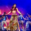 Jacqueline Fernandes performs at Temptations Reloaded in Sydney