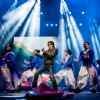 Shahrukh Khan performs at the Temptations Reloaded in Sydney