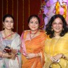 Kajol, Tina Ambani and Maushomi Chatterjee visit The North Bombay Sarbajanin Durga Puja