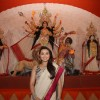 Bollywood actors visit The North Bombay Sarbajanin Durga Puja