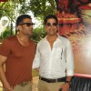 Suniel Shetty and Murali Sharma at the mahurat of the film 'Desi Kattey'