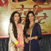 Sasha Agha and Twinkle Bajpai at the mahurat of the film 'Desi Kattey'