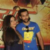 Twinkle Bajpai and Akhil Kapur at the mahurat of the film 'Desi Kattey'