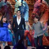 Akshay Kumar and Johnny Lever on Comedy Circus Ke Mahabali | Boss Photo Gallery