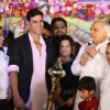 Akshay Kumar at the Luv-Kush Ramleela on Dusshera