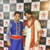 Karan Mehra and Rahul Sharma at the Star Plus Diwali TV show
