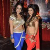 Mahie Gill and Meera Chopra at the Wrap up shoot of film Gangs of Ghost