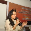 Juhi Chawla addresses the press on ill effects of mobile radiation