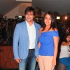 Vivek Oberoi and his wife at the Grand Masti Success Party