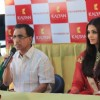 Manju Warrier and Aishwarya Rai Bachchan at the launch
