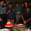 Abhijeet cuts the cake at the Birthday