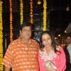 David Dhawan was seen at Ekta Kapoor's Grand Diwali Party