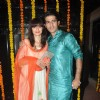 Gauri and Hiten Tejwani were seen at Ekta Kapoor's Grand Diwali Party
