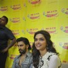 Ranveer and Deepika at Ram Leela promotions at 98.3 Radio Mirchi