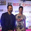 Rohit Shetty and Deepika Padukone get clicked at the Success Party of Chennai Express