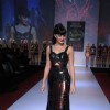 Jacqueline Fernandez, Sahar Biniaz, Srishti Rana walk the ramp at Signature International Fashion Weekend 2013 for Falguni and Shane Peacock in Mumbai