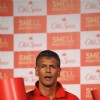 Milind Soman at the Launch of the Old Spice deodorant