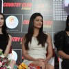 Claudia, Payal and Rakhi at the Country Club event