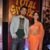 The lead pair at the First look of 'Total Siyappa'