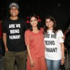 Monali and Nagesh Kukunoor at the Music video shoot of the film Lakshmi