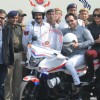 Saif Ali Khan, Sonakshi Sinha, and Tigmanshu Dhulia at a Road Safety Awareness Campaign