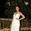 Aditi Rao Hydari walked the ramp at a Spanish designer's fashion shows