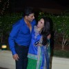 Akshay Kumar and Rani Mukherjee share a joke at Vishesh Bhatt's Wedding Reception