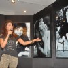 Priyanka Chopra showcases some of her pictures at the event