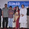 Press conference of the film Club 60