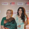 Shobha Khote and Bhavana Balsawer at the Senior Citizen Awards Ceremony