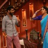 Prabhu Dheva and Upasana Singh on Comedy Nights with Kapil