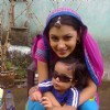 Sriti Jha on the sets of Balika Vadhu