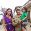 Balika Vadhu Off screen Pic with Sriti Jha