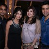 Vijay and Dolly Bhatter with Juhi and Sachin at India-Forums.com's 10th Anniversary Party