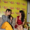 Huma Qureshi and Madhuri Dixit at Promotion of Dedh Ishqiya on 98.3 Radio Mirchi