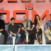 The cast of Dhoom 3 at the Press Conference