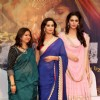 Rekha Bharadwaj, Madhuri and Huma at the Music Launch of 'Dedh Ishqiya'