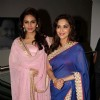 Madhuri and Huma at the Music Launch of 'Dedh Ishqiya'