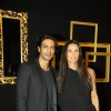 Arjun Rampal anf Mehr Jesia at Deepika Padukone's party