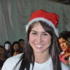 Lauren celebrates Christmas with the children of Smile Foundation