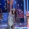 Gauhar Khan celebrates her winning moment