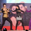 Krushna Abhishek and Kashmira Shah perform at the New Year celebrations at Country Club