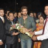 Hrithik was felicitated at the inaugural of Joyalukkas jewellery showroom
