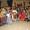 The cast and crew of Aur Pyar Ho Gaya at the party