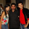 Rajan Shahi with Mishkat and Kanchi at the get together for Aur Pyar Ho Gaya