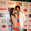 Kishwer Merchantt with Suyyash Rai was seen at the GR8! Love Stories Calendar Launch